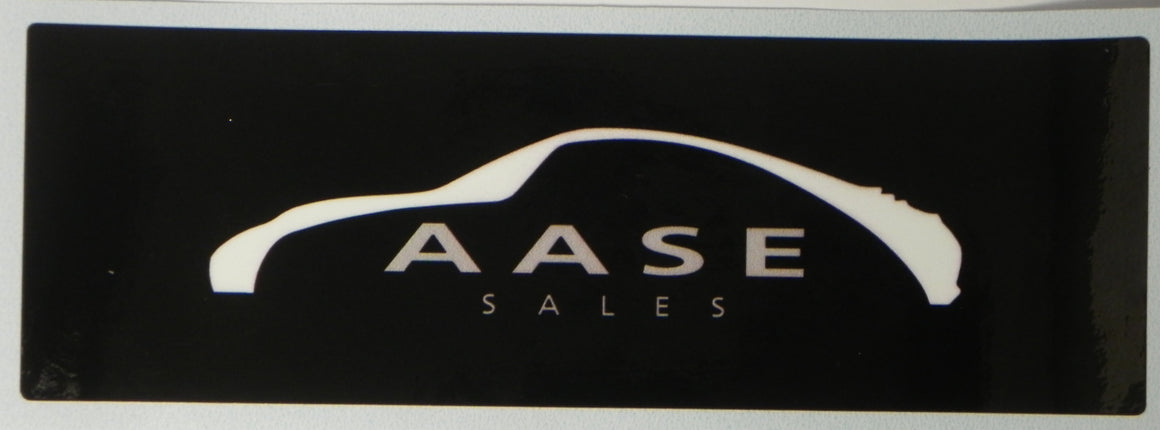 (New) Aase Sales Decal