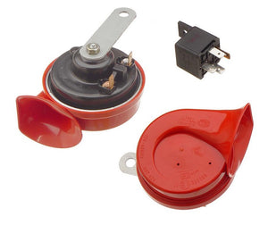 (New) Hella 12V Horn Set