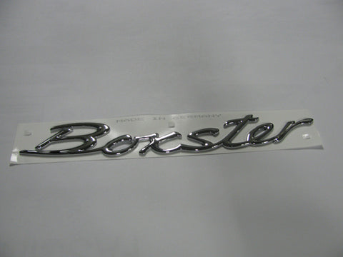 (New) Rear Lid Boxster Emblem - 1997-2007