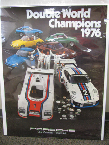 Double World Champions Poster - 1976