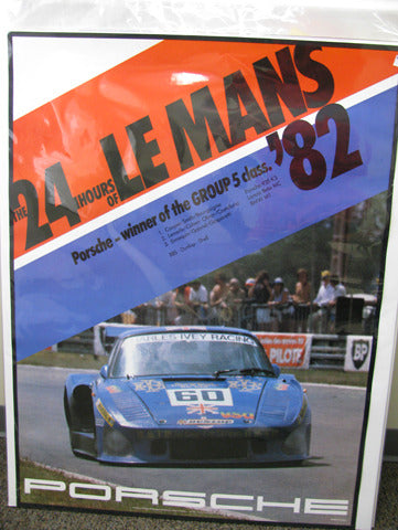 24 Hours of Lemans 935K3 Poster
