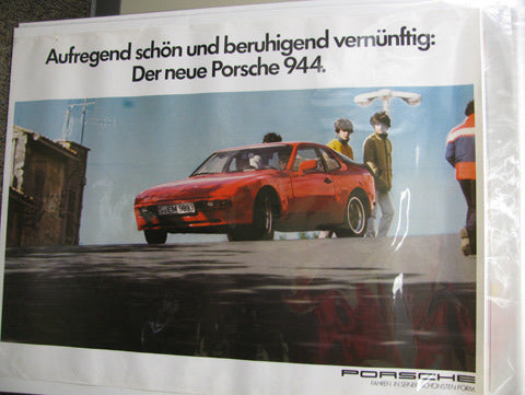 Red 944 German Version Poster