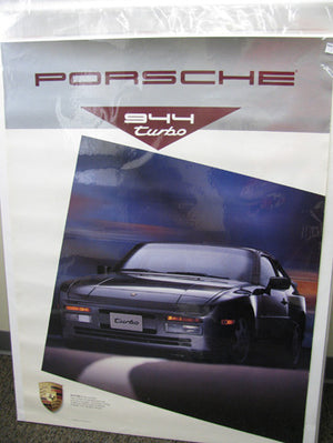 944 Grey Turbo Poster