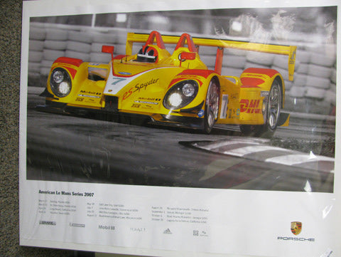 American Le Mans Series Poster - 2007