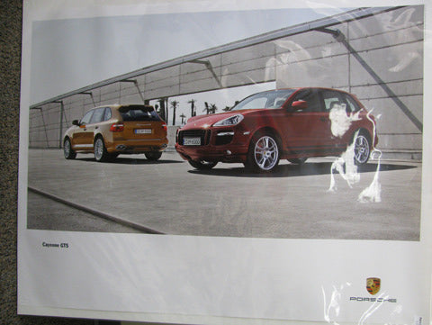 Cayenne GTS Poster