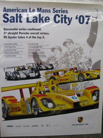 American Le Mans Series Poster: Salt Lake City
