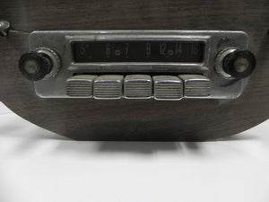 (Used) 356 Push Button AM Radio 6 Volt*