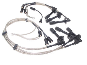 (New) 911 Stainless Steel Braided Spark Plug Wire Set 1974-83