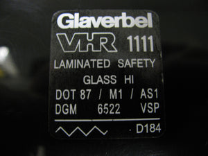 (New) 911 Glaverbel Window Decal