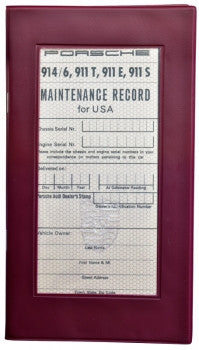 (New) 911 T/E/S & 914-6 Maintenance Manual and Insert Papers - 1969-72