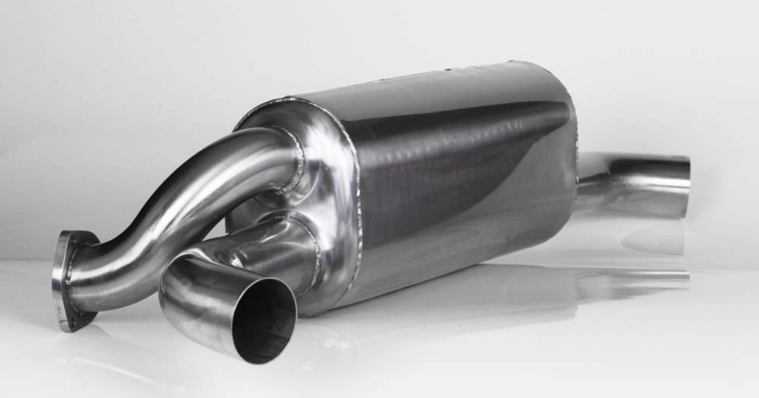 (New) 911 Carrera Monty Muffler M42 Dual Outlet - 1984-89