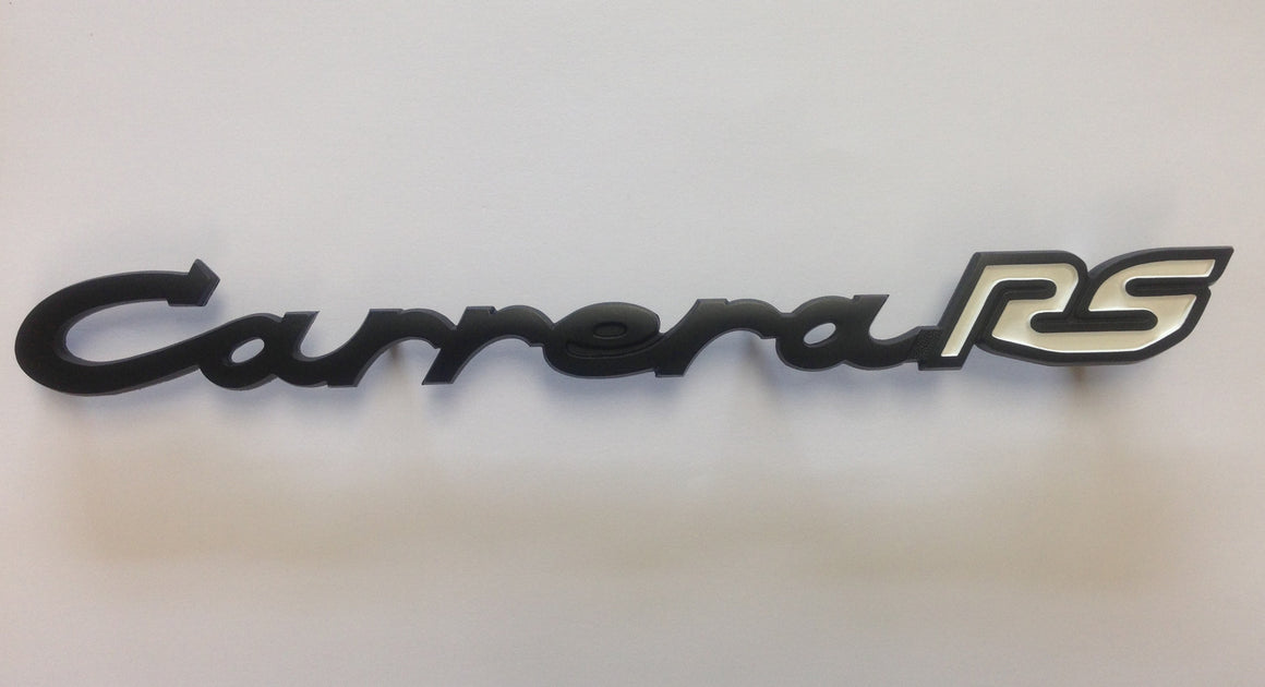 NEW ORIGINAL Porsche Early 911-912-914 SILVER INDIVIDUAL Deck Lid Letters SHINY