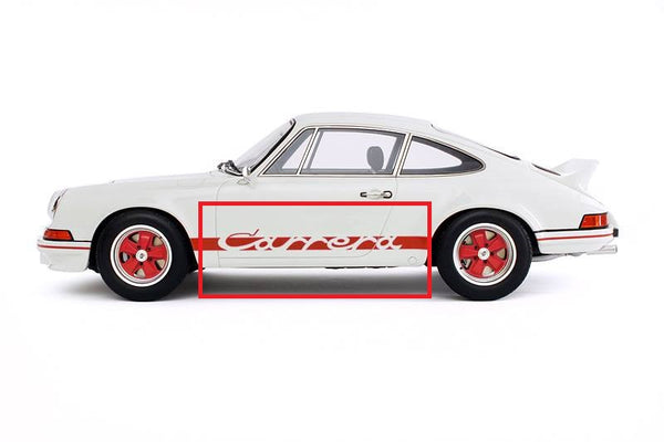 (New) 911 Red Carrera Side Decal - 1969-89