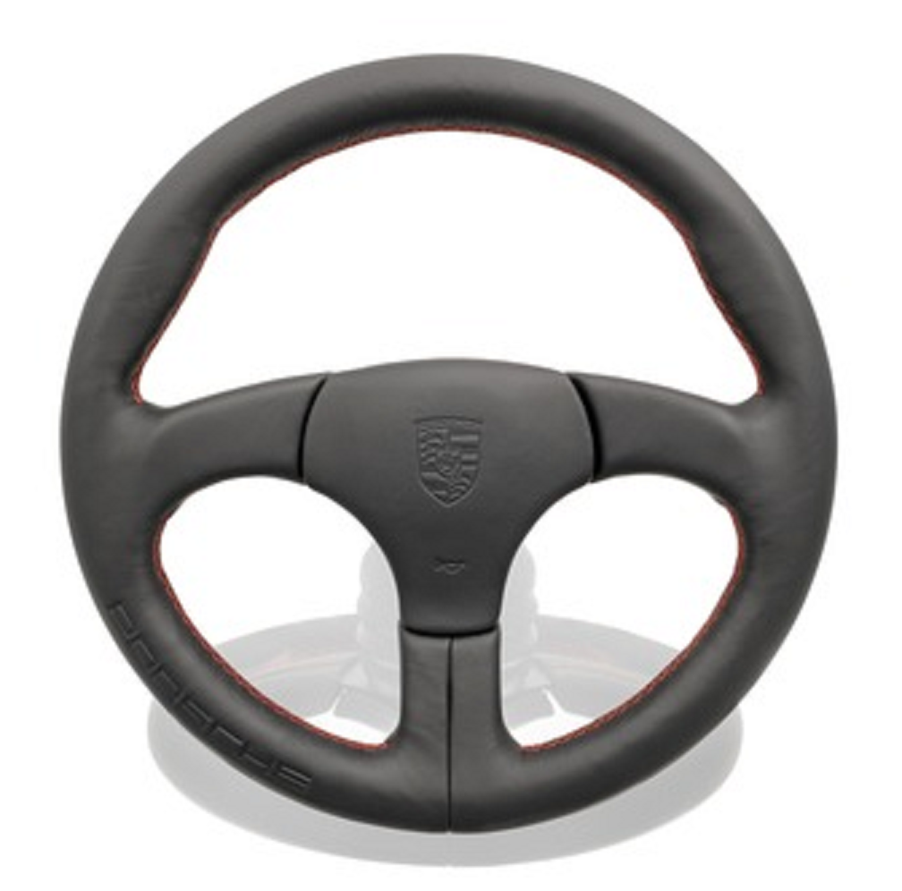 (New) 944 Sports Leather Steering Wheel Without Airbag - 1982-91