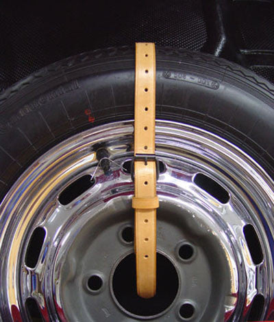 New 356 Black Spare Tire Strap 1950 65 Aase Sales