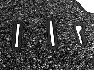 (New) 911/912 Targa Salt & Pepper Carpet Floor Mat Set - 1966-68