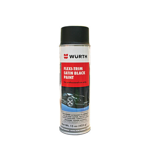 (New) 15oz Flexi-Trim Satin Black Flexible Trim Paint