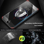 Iphone6 7 8 Plus Glass anti shock anti fingerprint Screen Protector Film with free film artifact