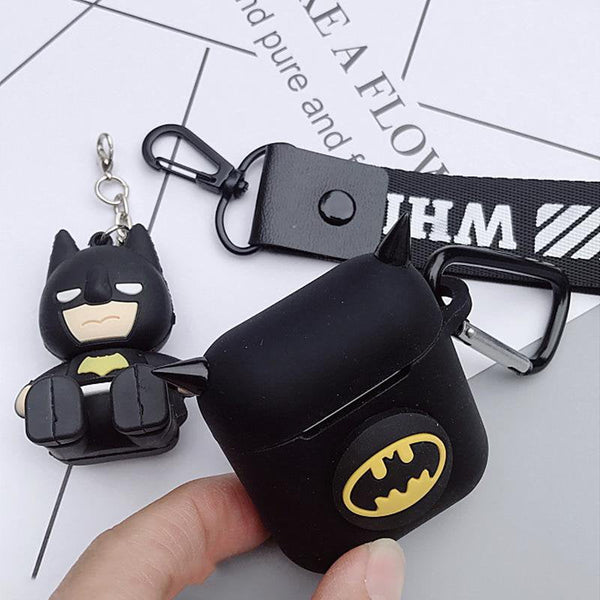 Apple Wireless Bluetooth Headset Batman Devil Corner Cover for airpods Anti-lost