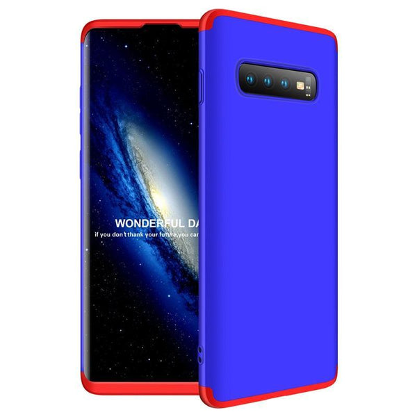 3 in 1 Double Dip 360° Protective Case Hard PC Cover Samsung S10 S10 lite S10 pro