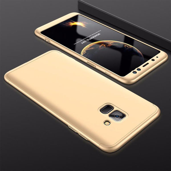 3 in 1 Double Dip 360° Full Body Protective Case for Samsung Galaxy A8/A8Plus