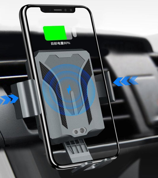 Car Air Vent Wireless Charging Mount Stand with Infrared