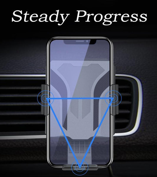 Car Air Vent Wireless Charging Mount Stand with Infrared Sensing