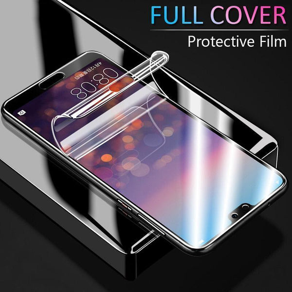 best authentic dc650 72bf6 Super Smooth Hydrogel Screen Protector 360 Full Coverage Screen Protector  With Free Gift Film Artifact for iPhone Huawei Hydrogel Film For iphone X  XS ...