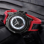 Sports Waterproof Calendar Timing Multi-function Wristwatch