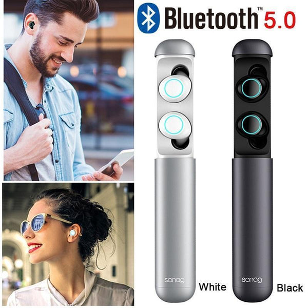 679fcdc5326 Sanag J2 TWS 5.0 Bluetooth Earphone With Battery Charger Mini Capsule  Wireless In-Ear Earbuds