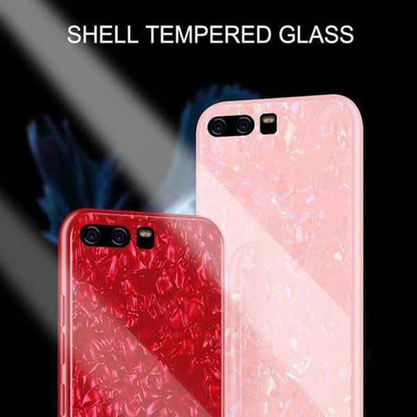 Tempered Glass Case For HuaWei Case Hard Cover For HuaWei P10/P10 Plus