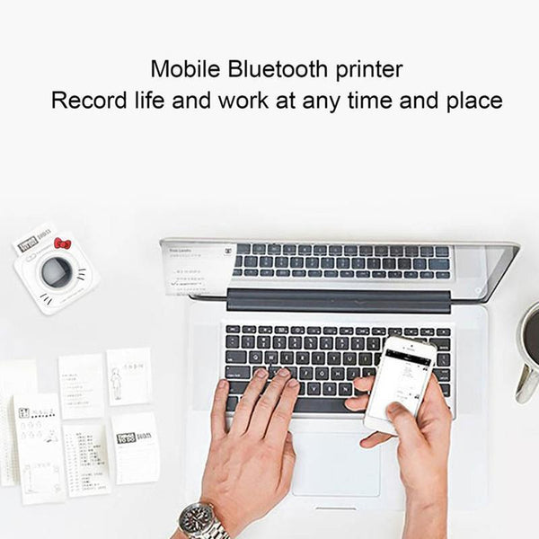 Paperang P1 Small Size Wireless Bluetooth 4.0 Mobile Phone Instant Photo Printer Digital Picture Printing 1000MAH Battery