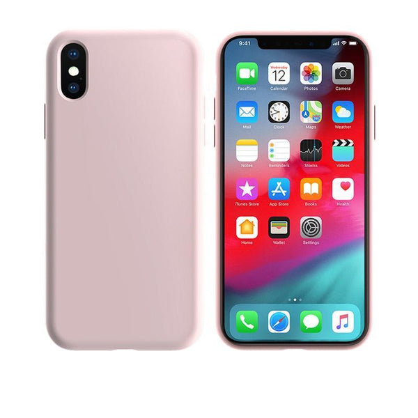 the best attitude be6fb f828c iPhone Case Original 100% Offical Silicone Soft Protection Back Cover  iPhone X/XS/XR/XS Max - Black - iPhone X/XS