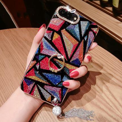 iPhone phone case tassel linger anti-fall phone case for iPhone 6/6s/7/7p/8/8p/6p/6sp/X/XS/XS Max/XR