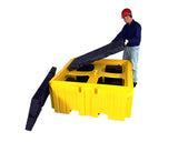 Ultratech -IBC Spill Pallet with Drain®