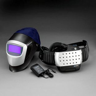 3M™ Adflo™ PAPR High Efficiency System with 3M™ Speedglas™ Welding Helmet 9000HWR and Auto-Darkening Filter 9002X