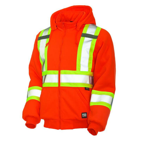 Richlu Work King Insulated Hi-Vis Hoodie