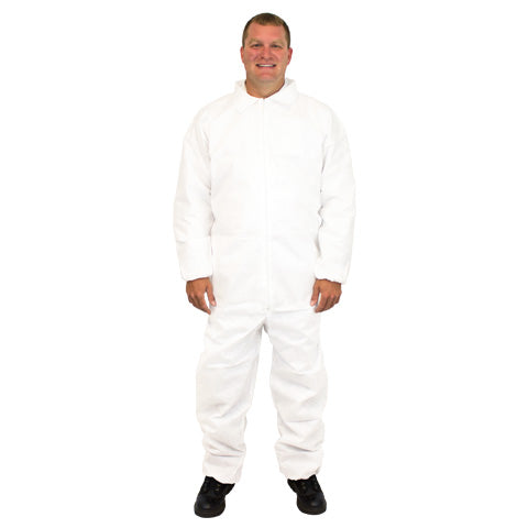 White SMS Coveralls