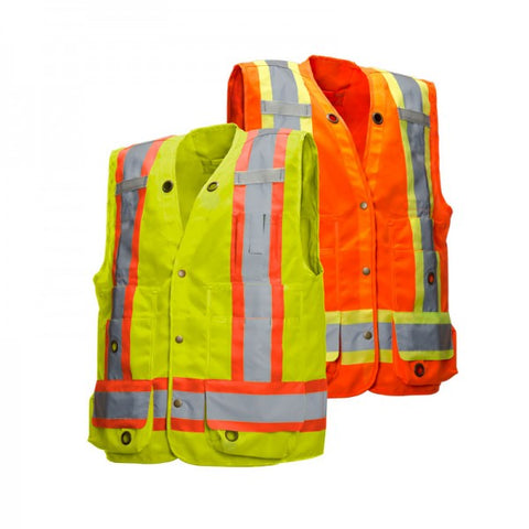 Deluxe Surveyor Vest with 17 Pockets