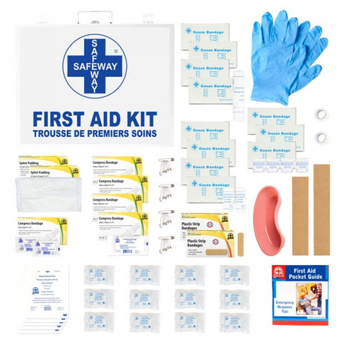 Metal First Aid Kit- 16-200 Employees