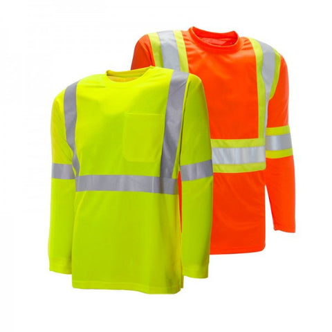Long Sleeve Traffic Safety Shirt