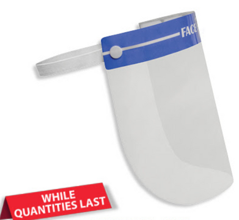 Disposable Medical Face Shield- 100/CS