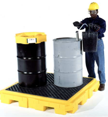 Ultra Tech 4 Drum Spill Pallet® Plus Model