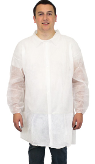 Disposable Poly Lab Coat