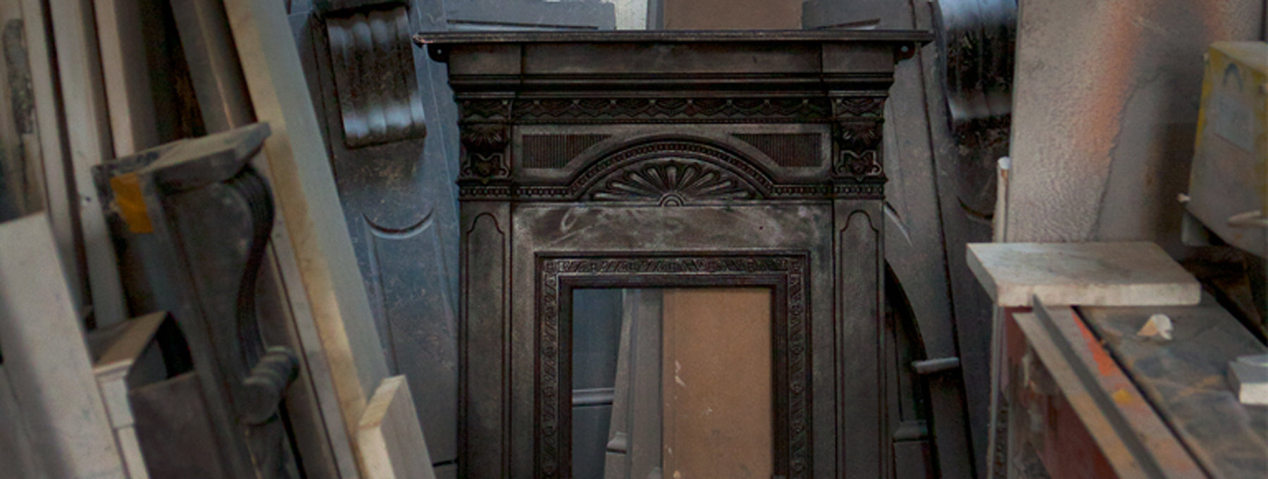 sell antique fireplace