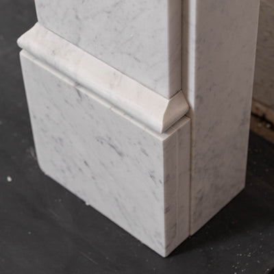 Georgian / Victorian Style Carrara Fireplace Surround