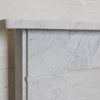 Georgian Style Carrara Marble Fireplace Surround