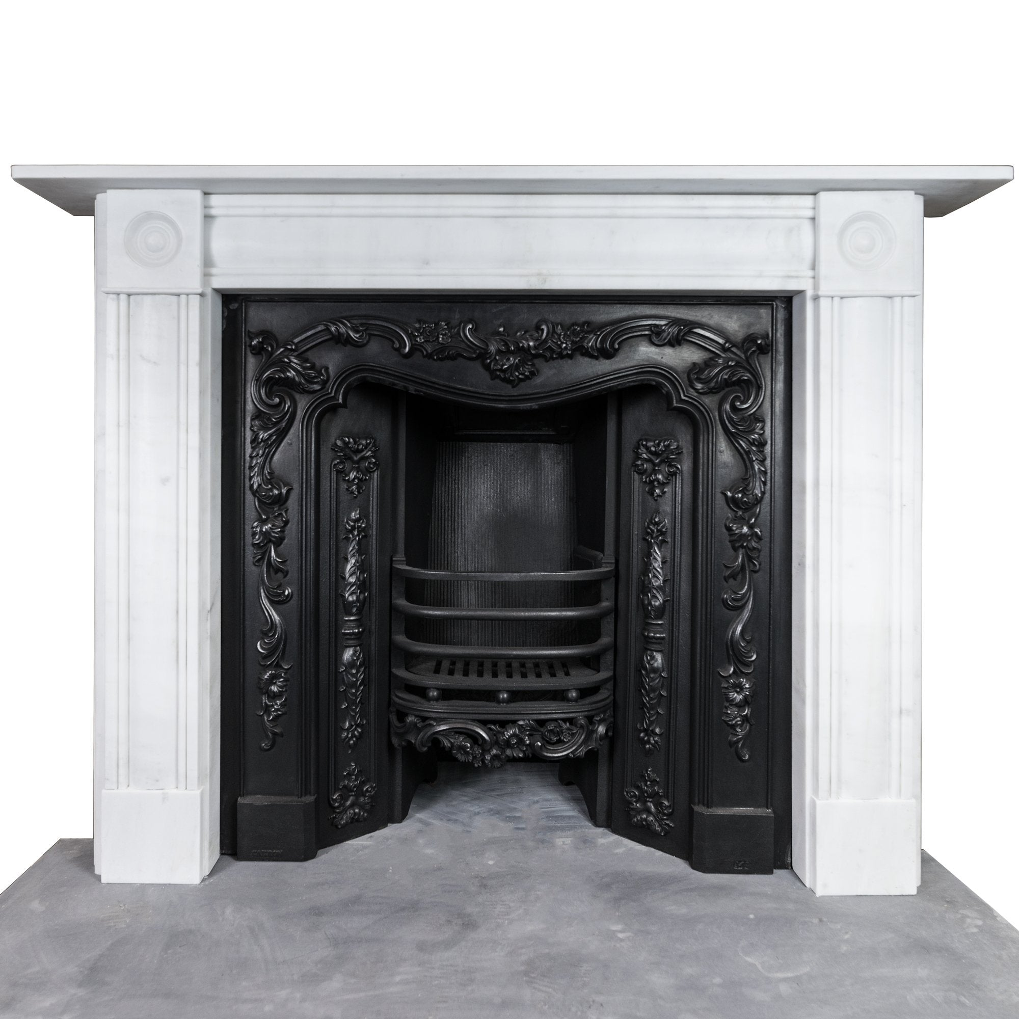 Georgian Style Statuary Marble Fireplace Surround Antique Fireplaces London