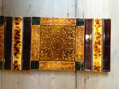 Antique Fireplace Tiles - The Architectural Forum