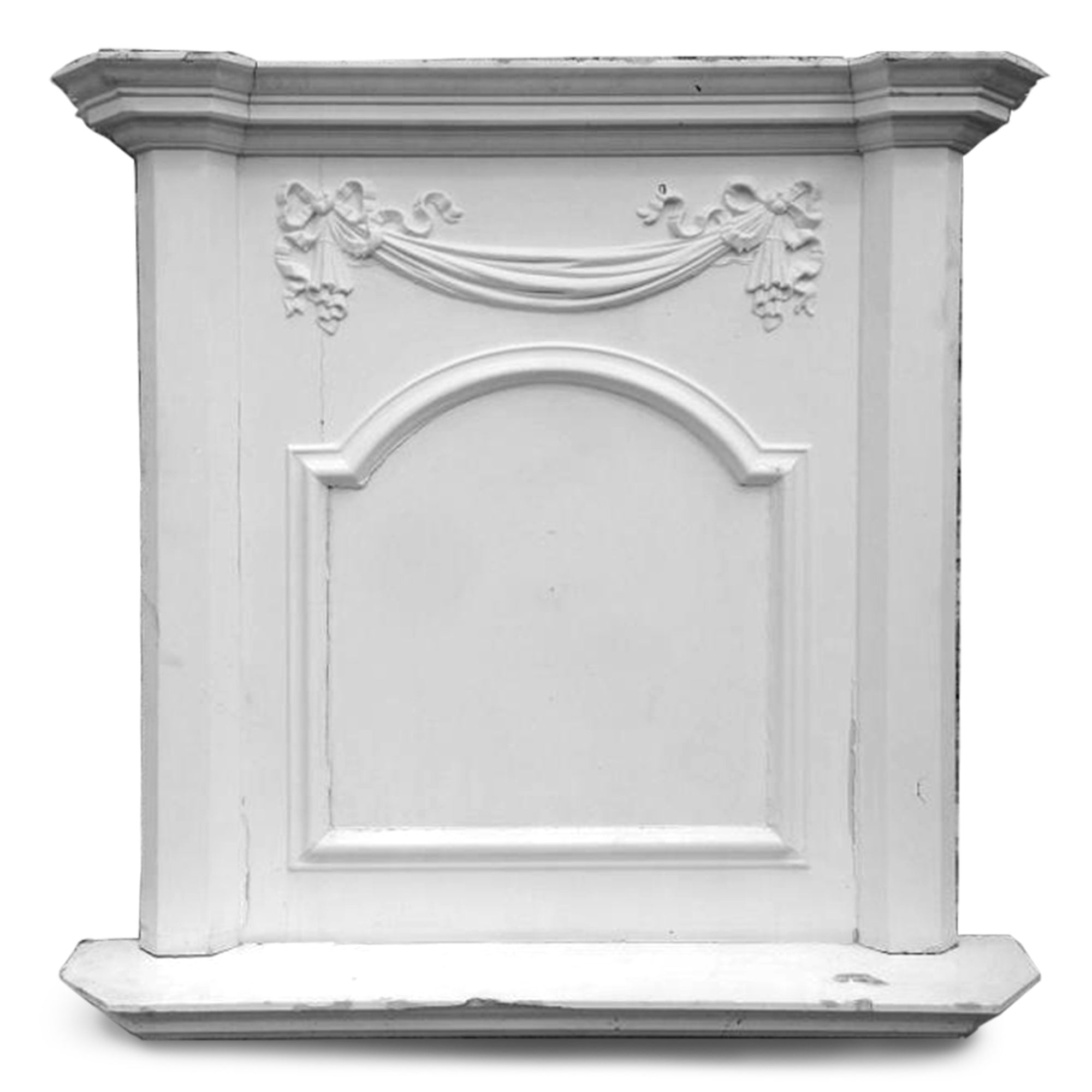 Antique Regency Fireplace Overmantle | The Architectural Forum